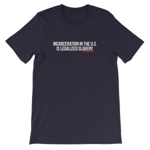 """Legalized Slavery"" T-Shirt"