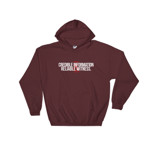 Credible&Reliable Hoodie