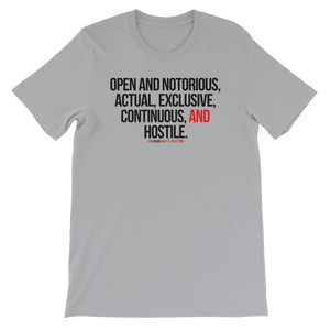 Adverse Possession T-Shirt