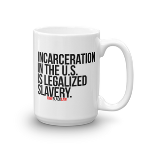 """Legalized Slavery"" Mug"