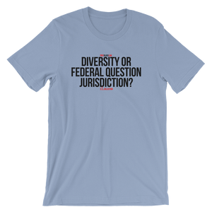 Subject Matter Jurisdiction T-Shirt