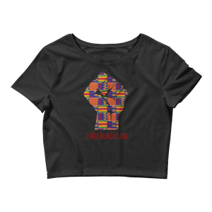 Kente Fist Crop Top