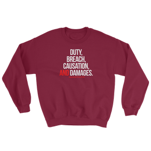 What is Negligence? Crewneck Sweatshirt