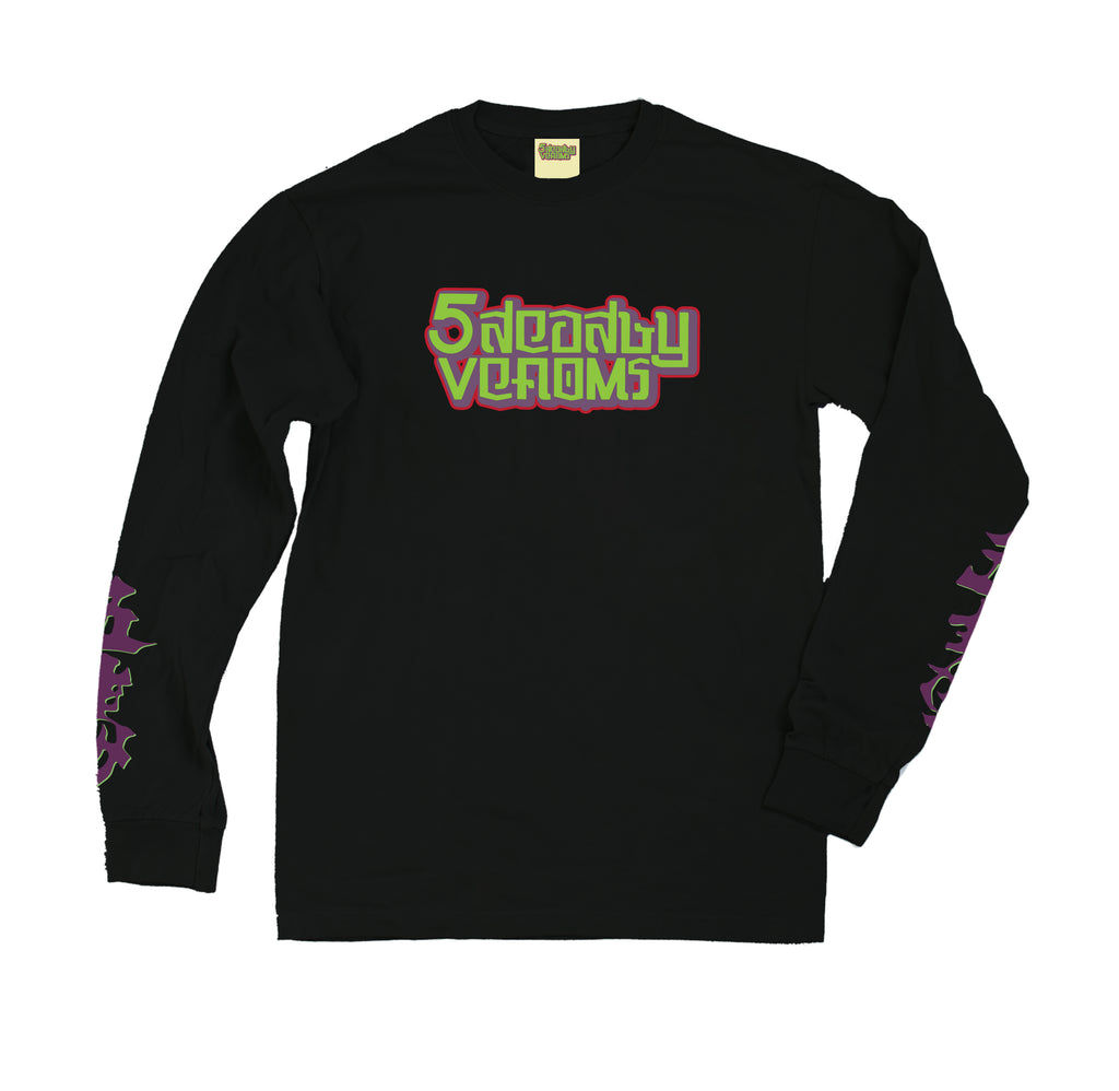"""5 DEADLY VENOMS"" Long Sleeve"