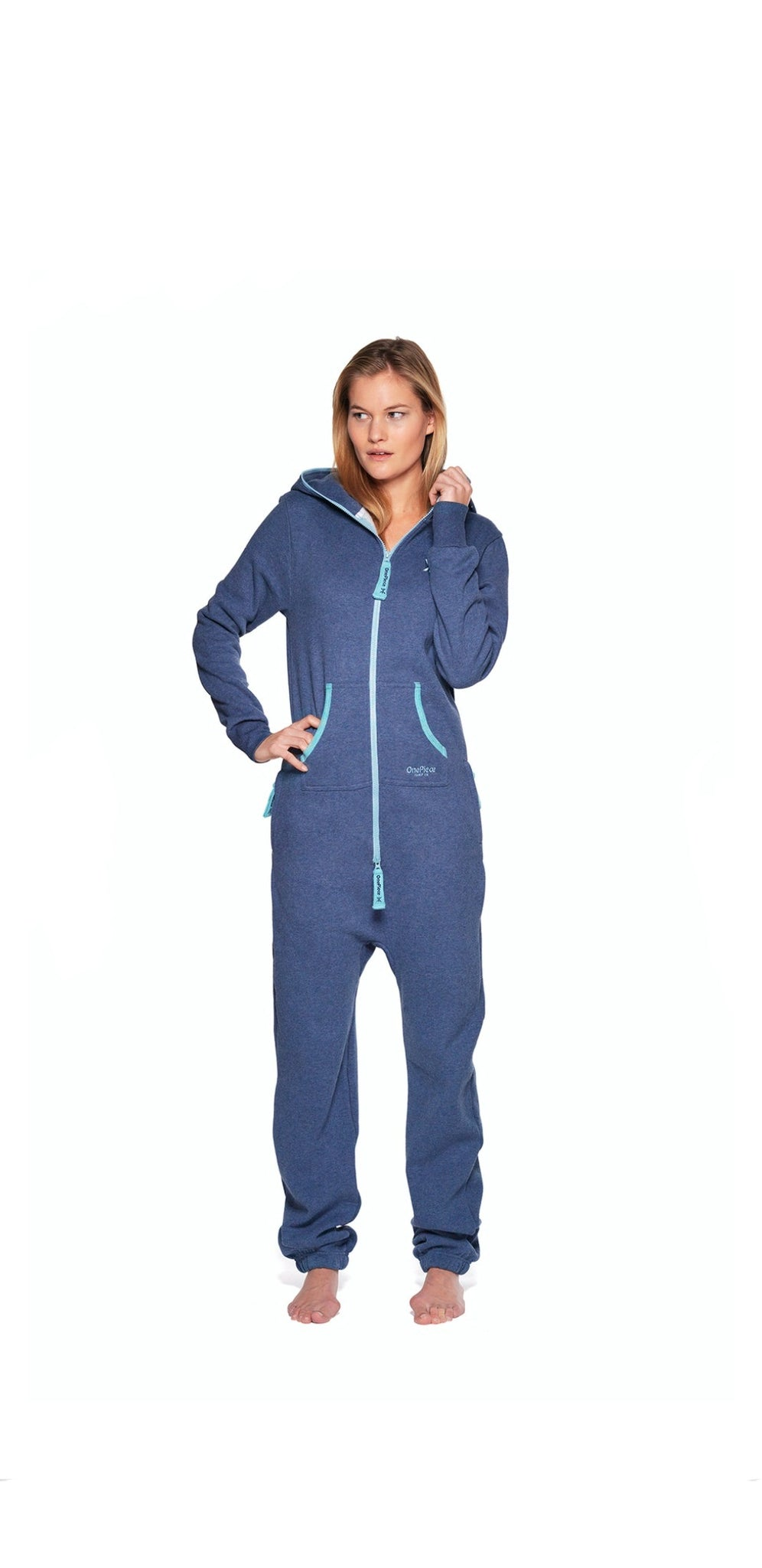 Onepiece Adult Onesie 2.0 in Dusty Blue