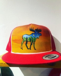 AK Art Factory - Red Moose