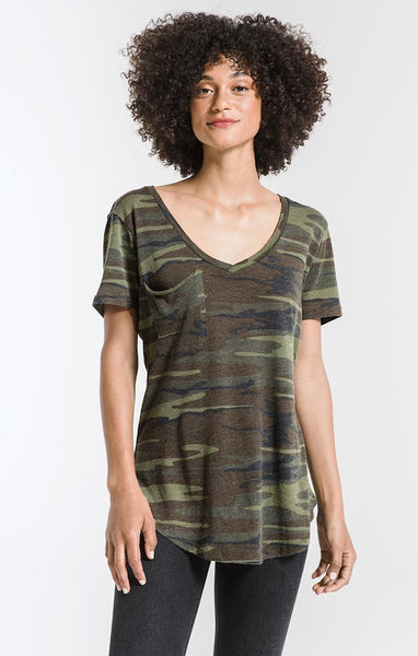 Camo Pocket T - Z Supply