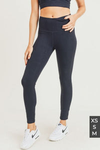 Textured Snake Jacquard Tactel High Waisted Leggings