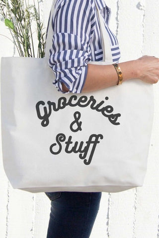 Groceries & Stuff Re-Usable Bag