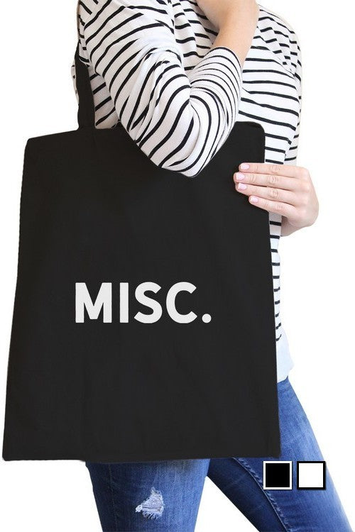 Misc. Re-Usable Black Bag