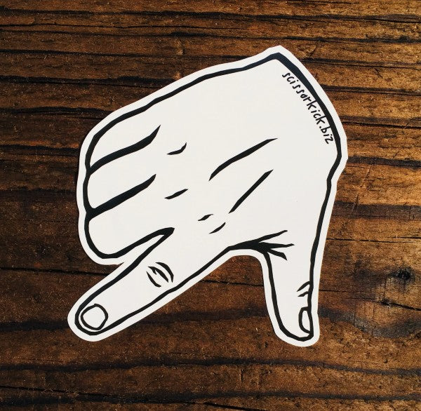 "5"" Hand AK Map Sticker"
