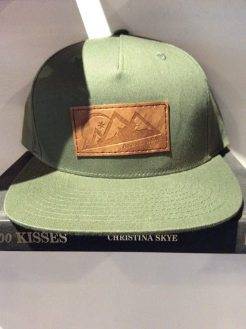 AlaskiWear Adult Trucker Hat - Olive 5 Panel