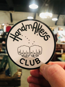 Hand Makers Club Sticker
