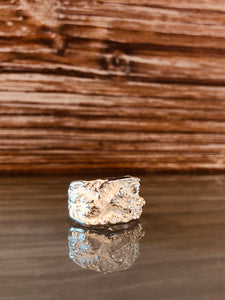 Topography Ring Sterling Silver