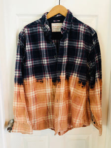 Sun Moon Flannel - No Logo