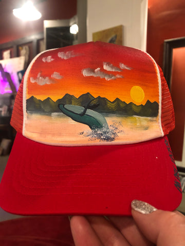 AK Art Factory - Red / Whale