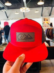 Alaskiwear Adult Trucker - 5 Panel Red