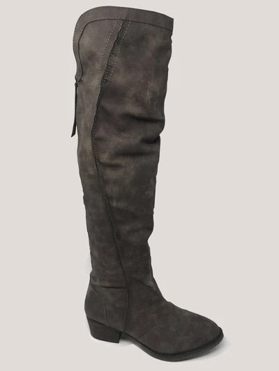 Southern Belle Over The Knee Boot
