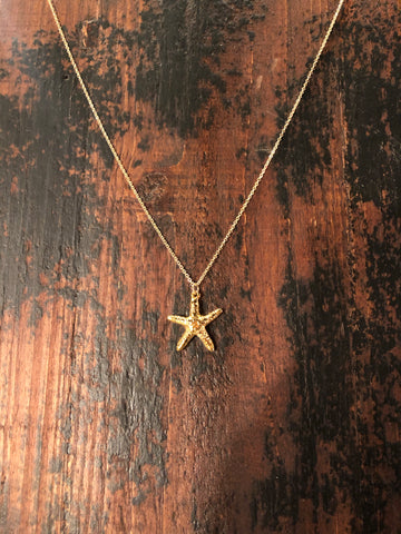 XS Starfish Necklace