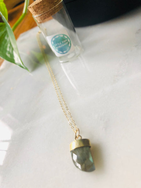 Arrow Head Charm Necklace