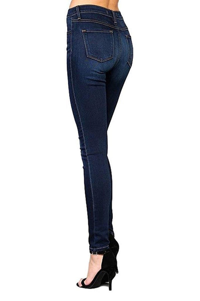 High Rise Skinny in Blue Babe