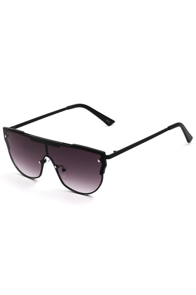 Flat Top Shield Sun Glasses