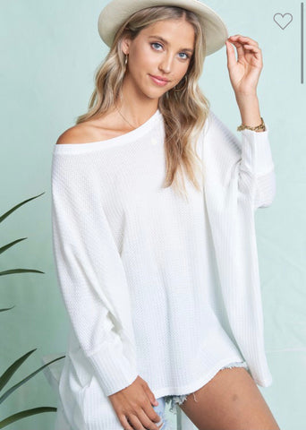 Ivory Thermal Tunic