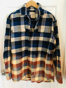 Sun Moon Flannel - Bronze Mountain L