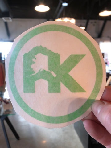 AK Decal Sticker