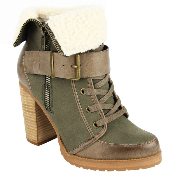 High Trails Sherpa Bootie