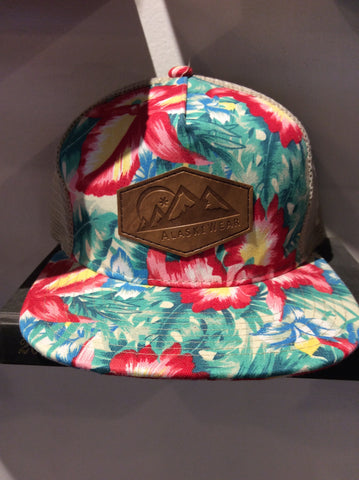 AlaskiWear Adult Trucker Hat - Tropical