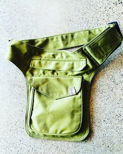 Belt Pouch Army Green