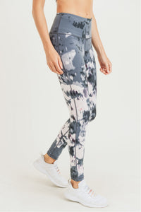 Aspen Print High Waisted Leggings