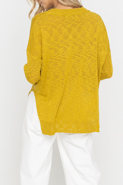Wasabi Knit Sweater