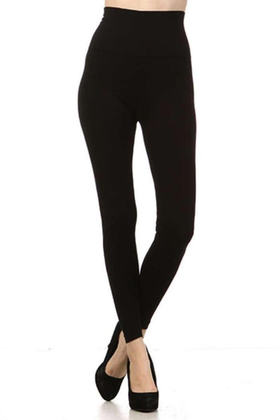 Tummy Tuck Leggings Black