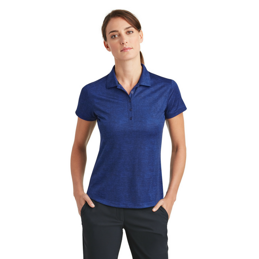 Nike Ladies Dri-FIT Crosshatch Polo - FlywheelPromotions.com