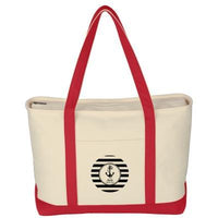 Custom Canvas Boat Tote - FlywheelPromotions.com