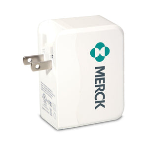 4Corners™ USB Wall Charger - FlywheelPromotions.com