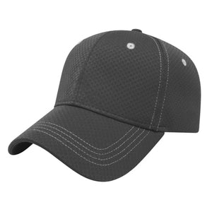 i7024 Soft Textured Polyester Mesh Cap - FlywheelPromotions.com