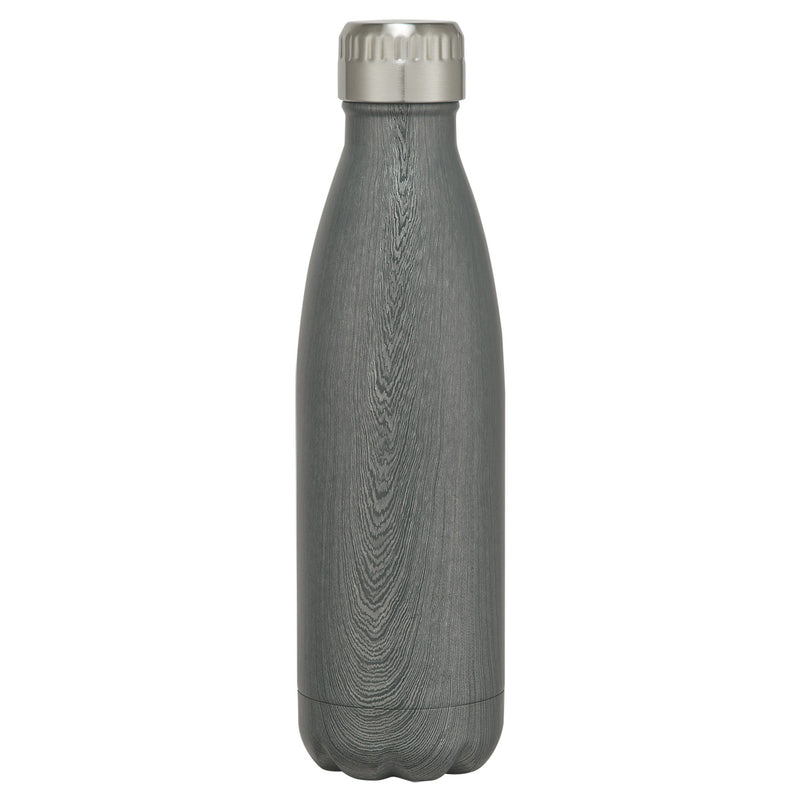 16oz Stainless Steel Woodtone Swig Bottle - FlywheelPromotions.com