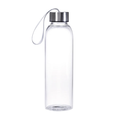 18 oz. Aqua Glass Bottle - FlywheelPromotions.com