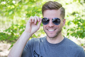 Ocean Gradient Aviator Sunglasses - FlywheelPromotions.com