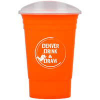 BLAZE - 16 oz Tumbler with Lid - FlywheelPromotions.com
