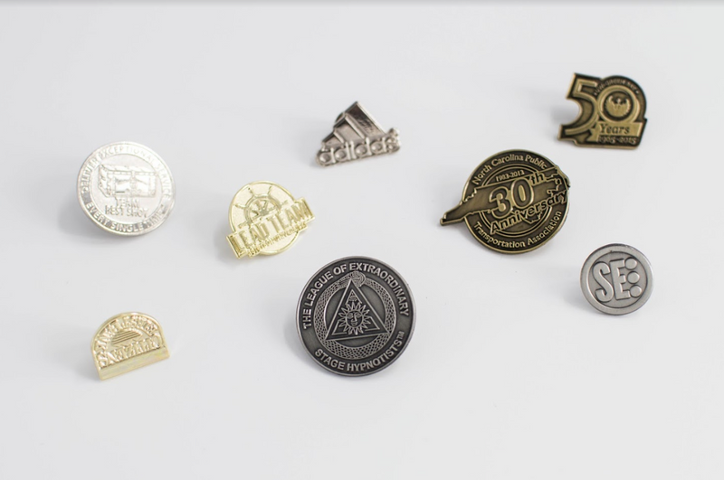 "3/4"" to 2"" Custom Lapel Pins - FlywheelPromotions.com"