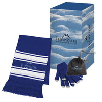 Winter Combo Set with Custom Gift Box - FlywheelPromotions.com