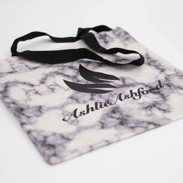 Marbled Tote Bag - FlywheelPromotions.com