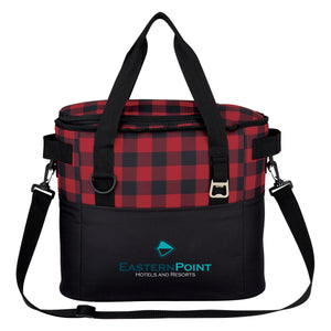 Northwoods Cooler Bag - Red and Black