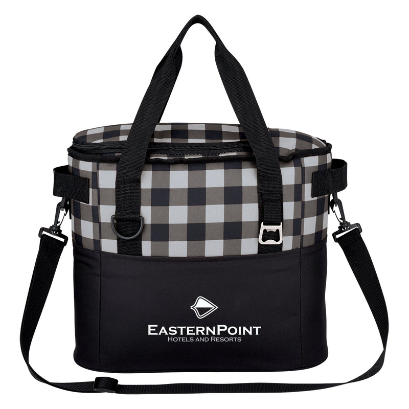 Northwoods Cooler Bag - Black and White