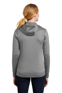 Nike Ladies Therma-FIT Full-Zip Fleece Hoodie_Dark Grey Heather
