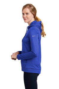 Nike Ladies Therma-FIT Full-Zip Fleece Hoodie_Game Royal